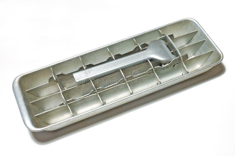 ice tray stara zdjęcie royalty free