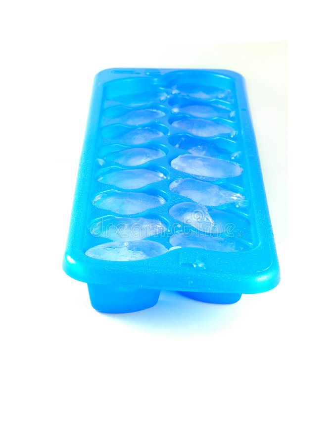 ice tray sześcianu obraz stock