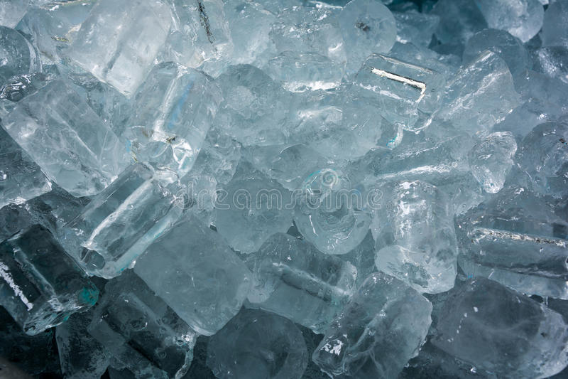 Ice tube background/texture. royalty free stock image