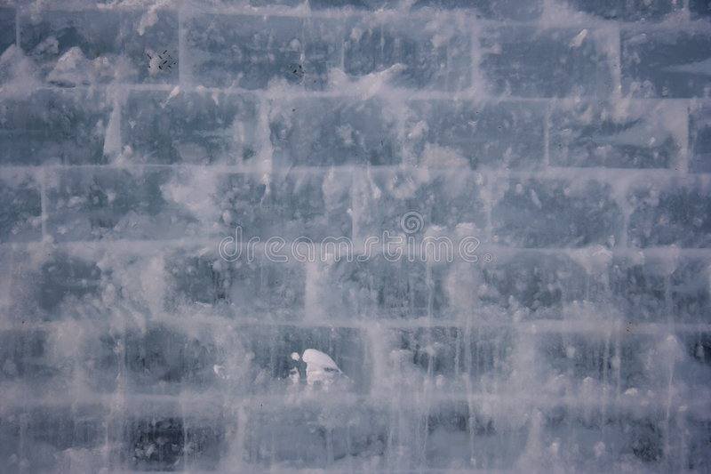 Ice wall texture background stock photography