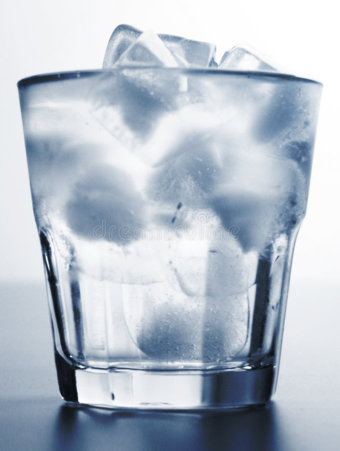 Ice water royalty free stock photo