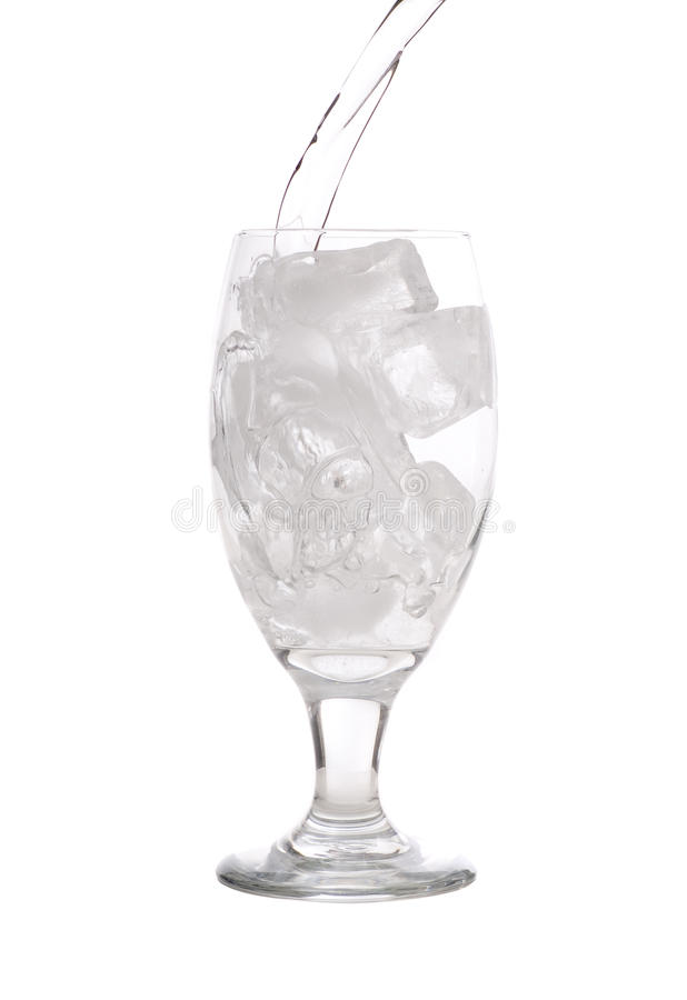 Download Ice water pour stock image. Image of beverage, drink - 10256979