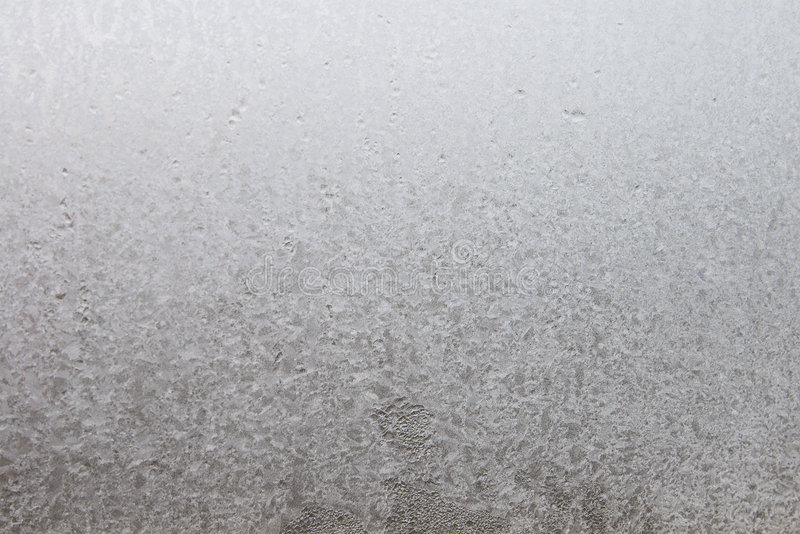 Ice on window glass royalty free stock photos