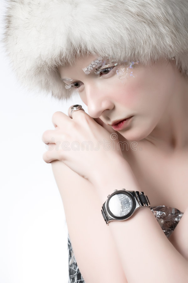 Free Ice Woman Royalty Free Stock Photography - 2641407