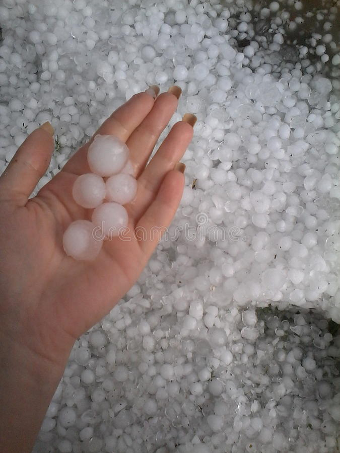 Iceballs photographie stock