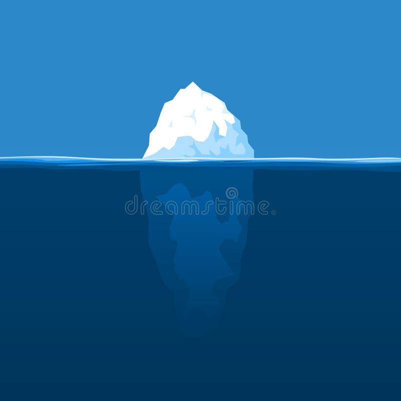 Iceberg royalty illustrazione gratis