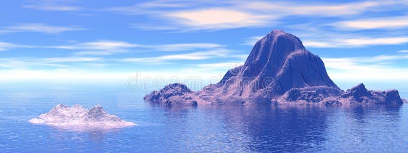 Iceberg ilustração royalty free