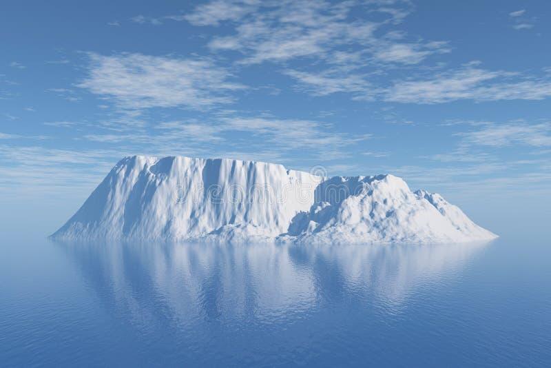 Iceberg ilustração do vetor