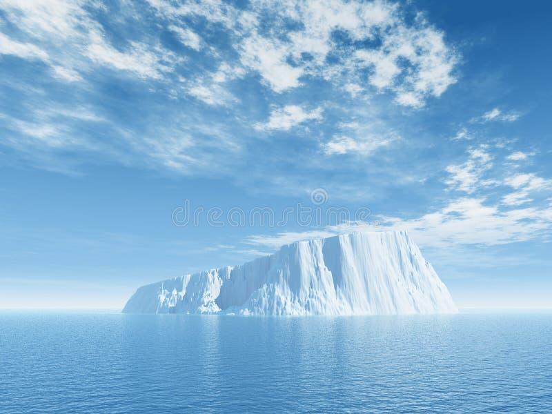 Iceberg illustration de vecteur