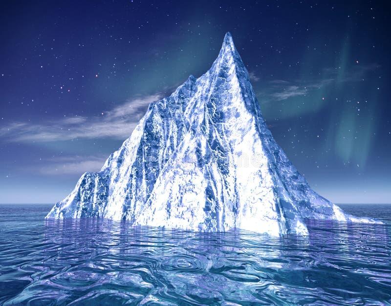 Iceberg. illustrazione vettoriale