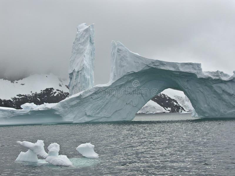 Iceberg 4 de l'Antarctique image libre de droits