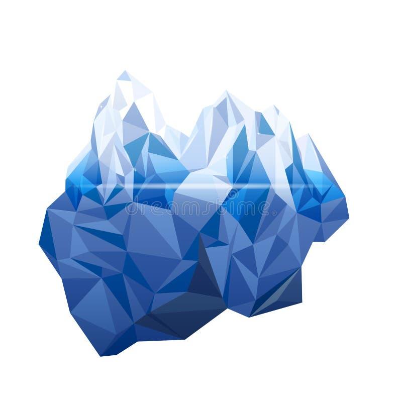 iceberg stock de ilustración