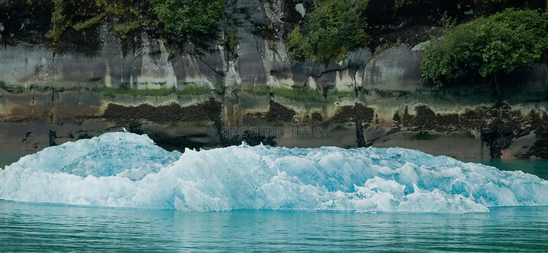 Iceberg in Alaska. stock photography
