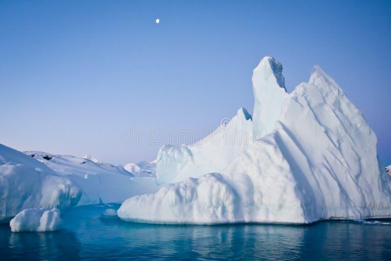 Iceberg antárctico imagens de stock