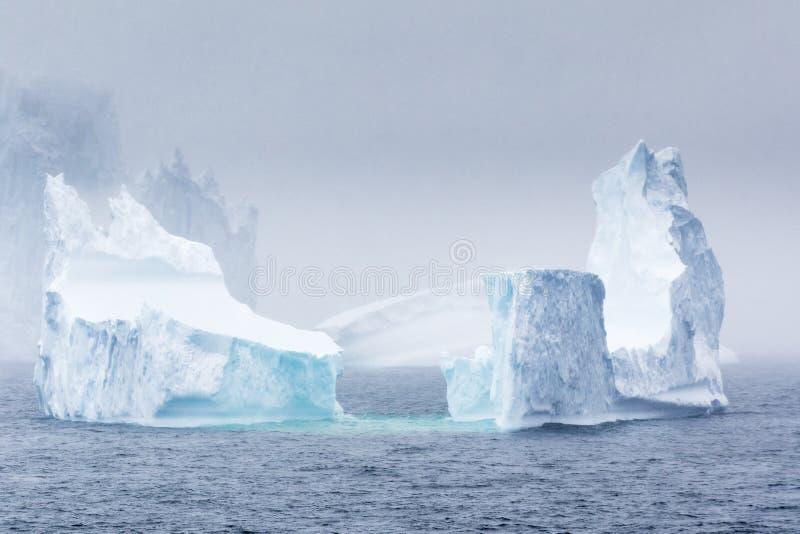 Iceberg antárctico imagem de stock