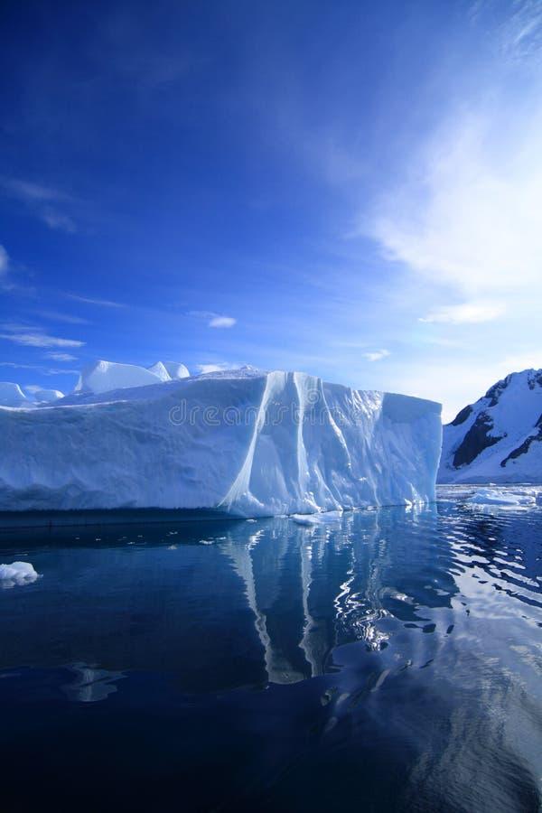 Iceberg in Antarctica stock photography