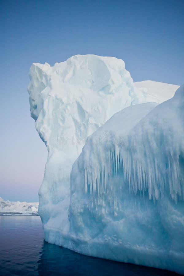 Iceberg antarctique photo stock