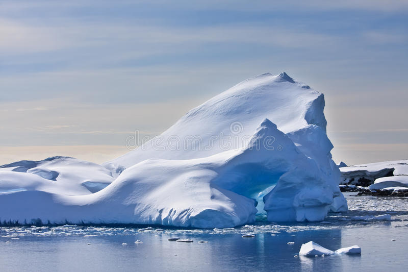 Iceberg antarctique photo libre de droits
