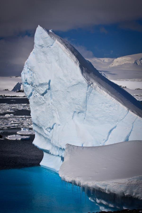 Iceberg antartico immagini stock libere da diritti