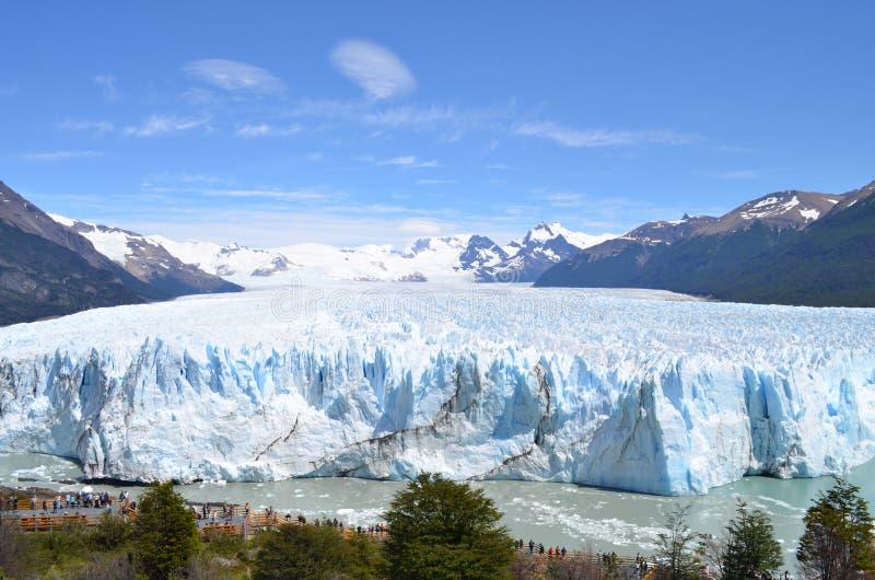 Iceberg in Argentina vicino al EL Calafate fotografia stock libera da diritti