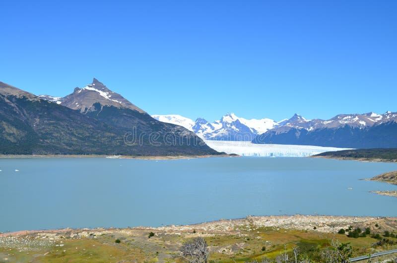 Iceberg in Argentina vicino al EL Calafate fotografia stock