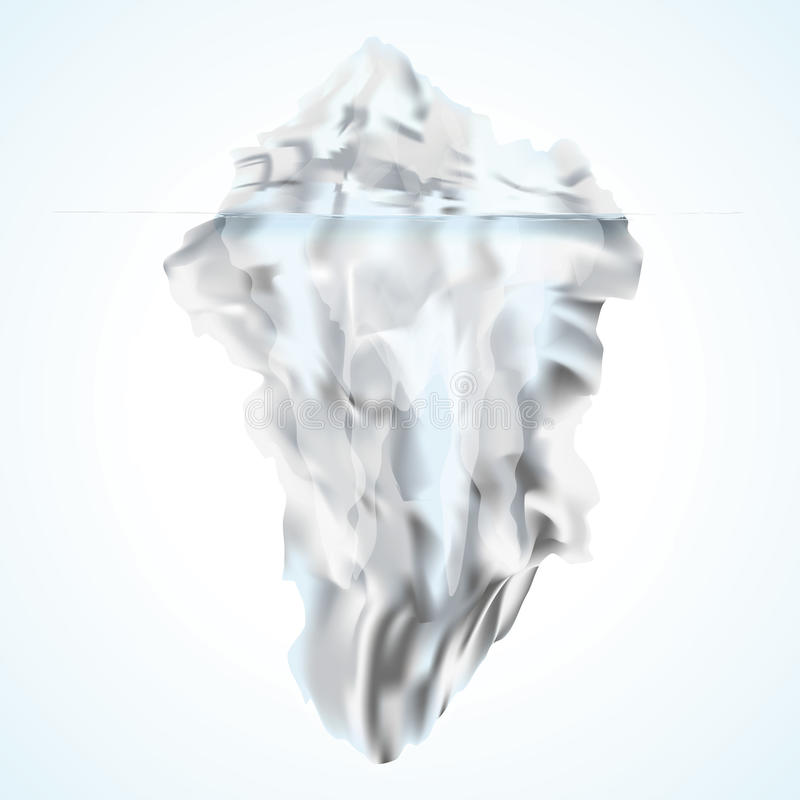 Iceberg bianco royalty illustrazione gratis