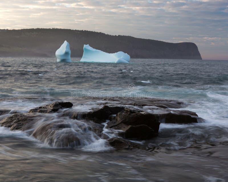 Iceberg côtier image libre de droits