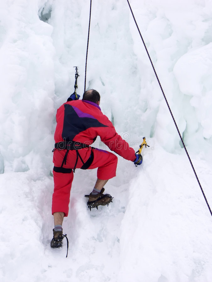 Iceberg Climber Stock Photos