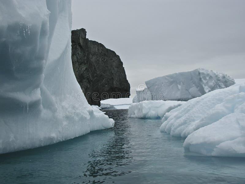 Iceberg de Ant3artida fotografía de archivo