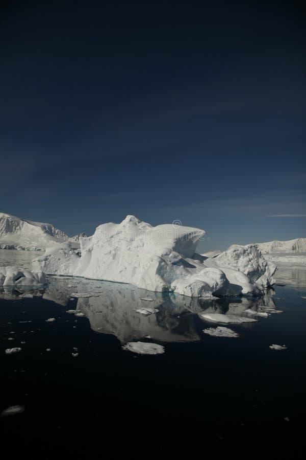 Iceberg de Continente antárctico fotografia de stock