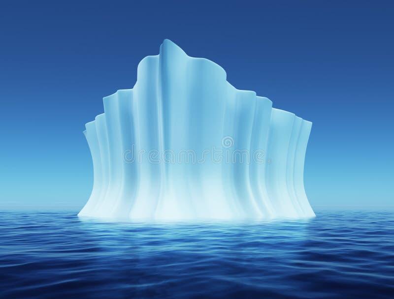 Iceberg di fusione royalty illustrazione gratis