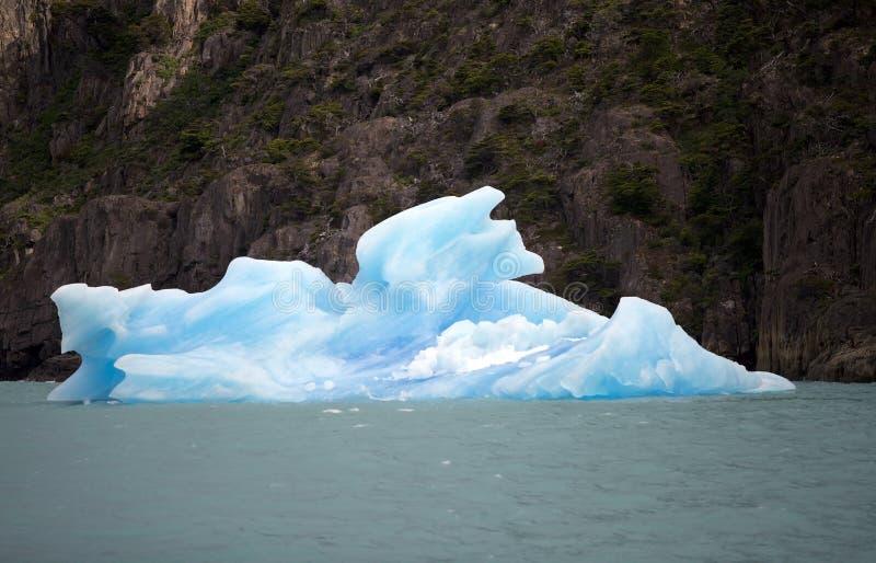 Iceberg em Argentino Lake, Argentina foto de stock