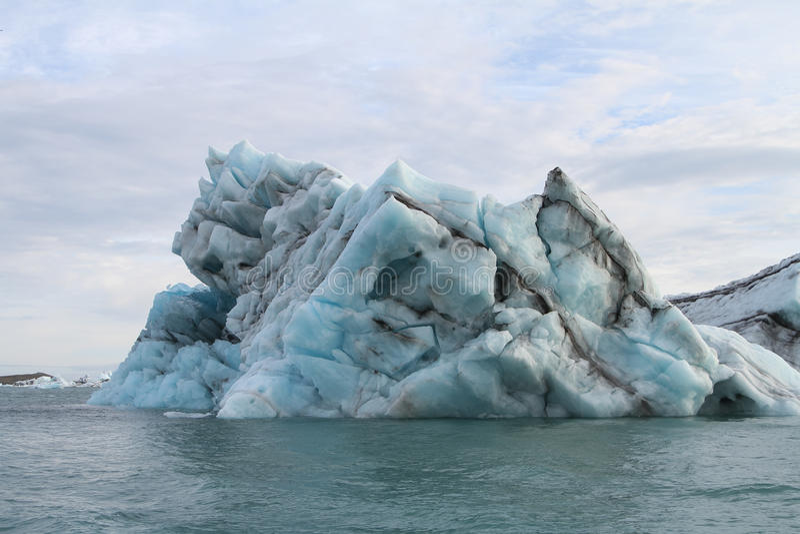 Iceberg em Islândia foto de stock