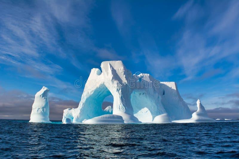 Iceberg en Ant3artida fotos de archivo