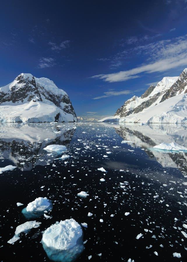 Iceberg en Antarctique photos libres de droits