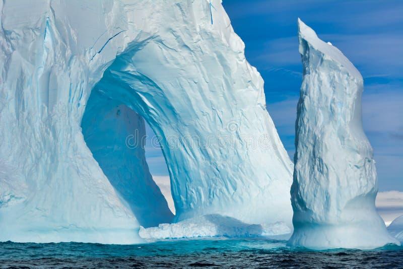 Iceberg en Antarctique photographie stock libre de droits