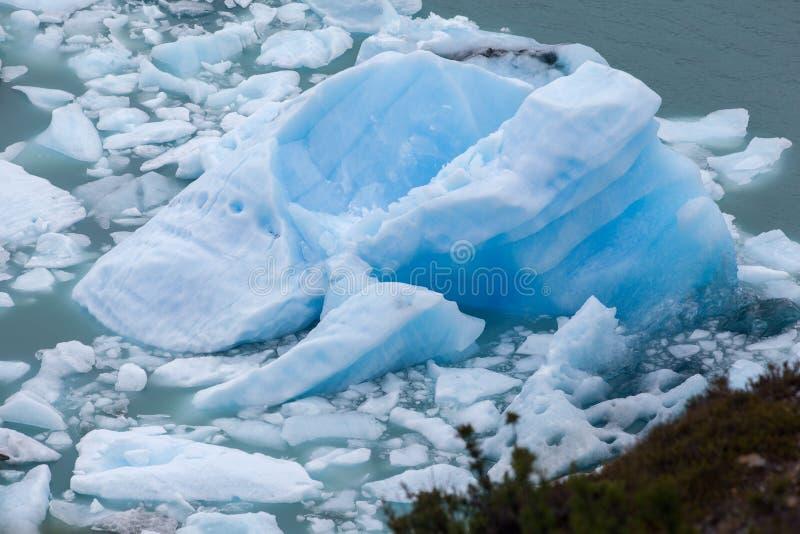 Iceberg en el EL Calafate la Argentina de Perito Moreno foto de archivo libre de regalías