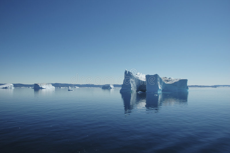 Iceberg, Greenland fotos de stock royalty free