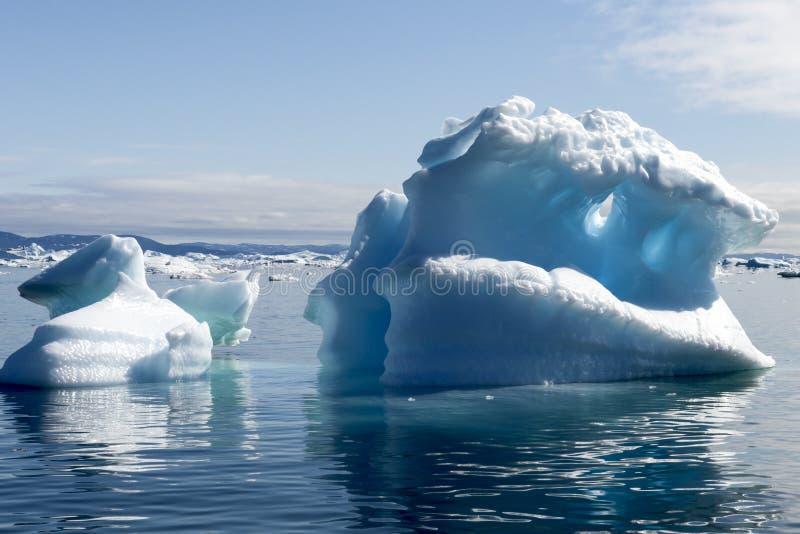 Iceberg Groenlandia fotografie stock