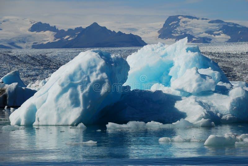 Iceberg in iceland royalty free stock photos