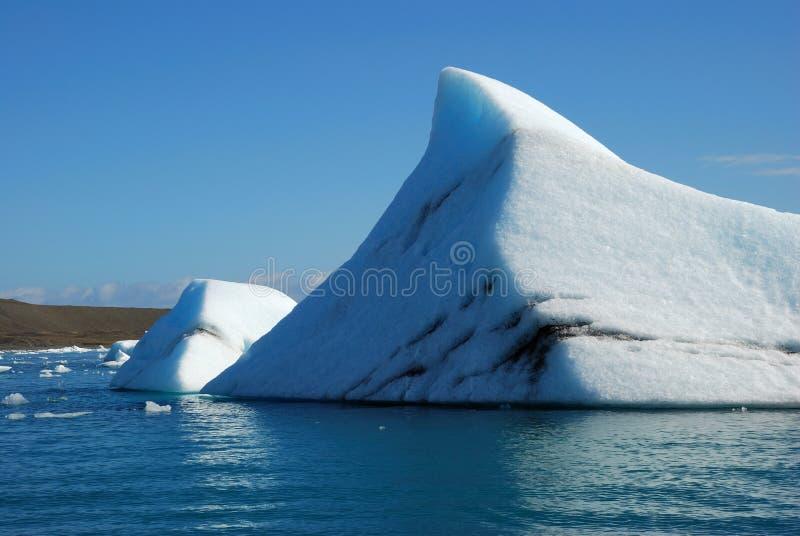 Iceberg in iceland royalty free stock image