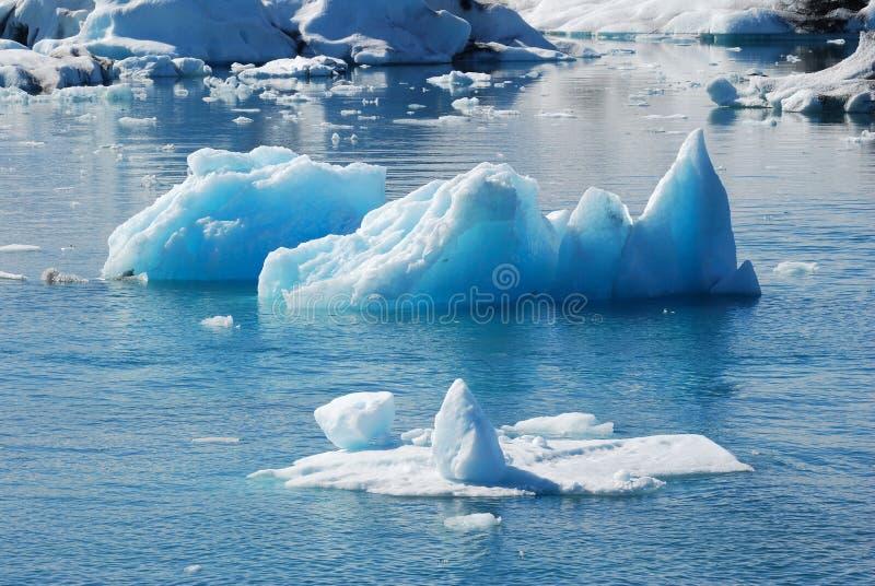 Iceberg in iceland royalty free stock photo