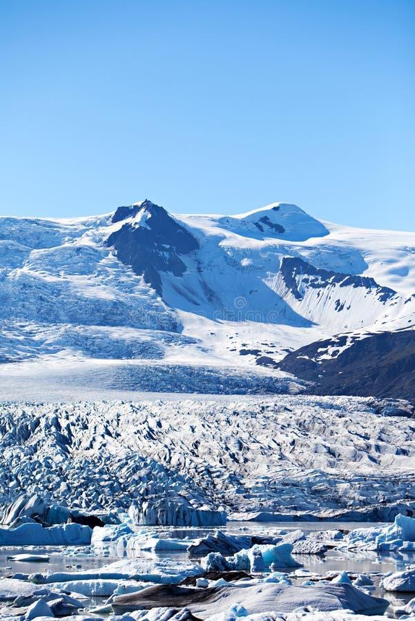 Iceberg Lagoon, Iceland royalty free stock photos