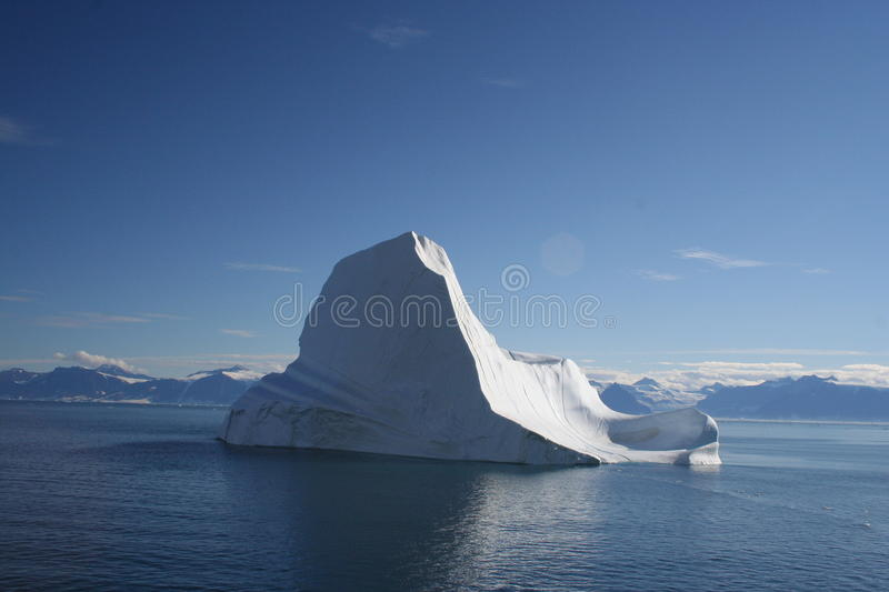 Iceberg off Greenland stock images