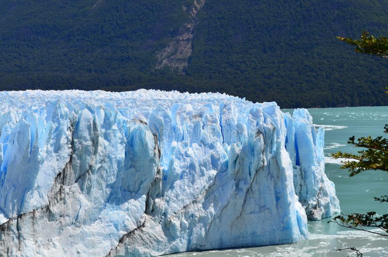 Iceberg Perito Moreno-Un di posto più bello in Argentina immagine stock