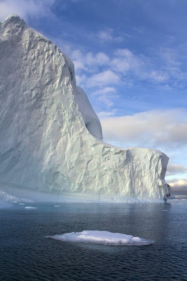 Iceberg in Scoresbysund in Greenland stock photos