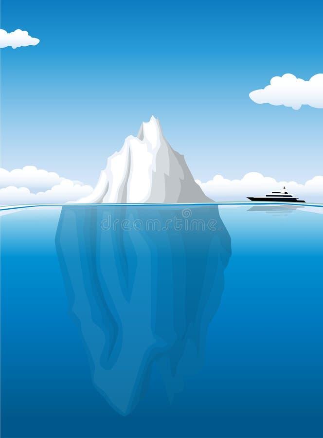 Iceberg royalty free illustration