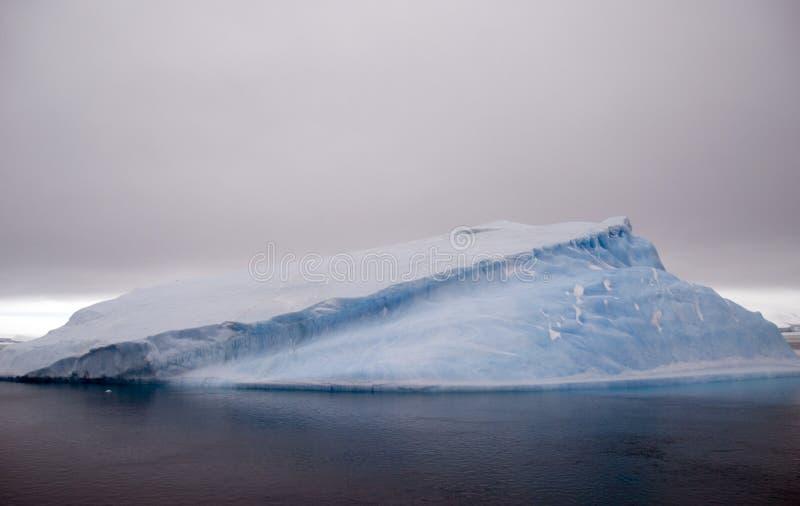 Iceberg tabulaire image libre de droits