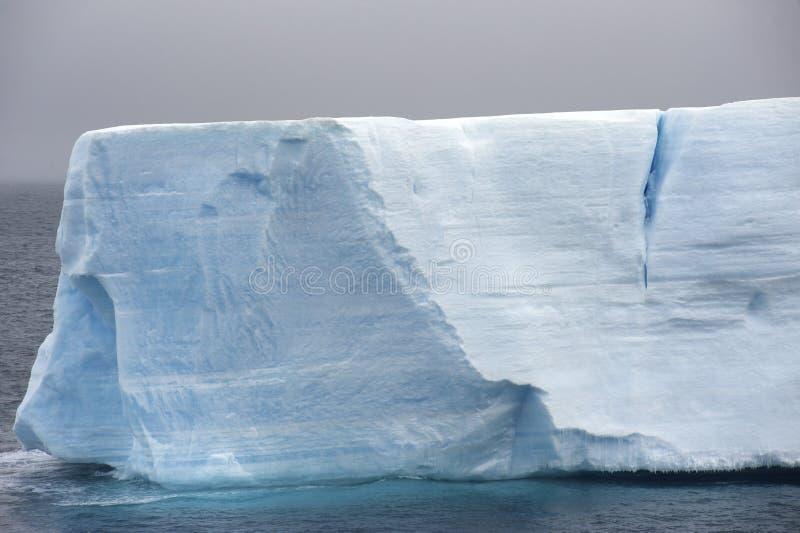 Iceberg tabular Ant3artida fotografía de archivo