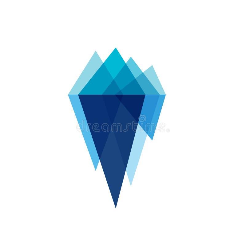 Free Iceberg Vector Illustration Stock Image - 167046601